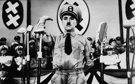 el gran dictador charles chaplin adolf hitler