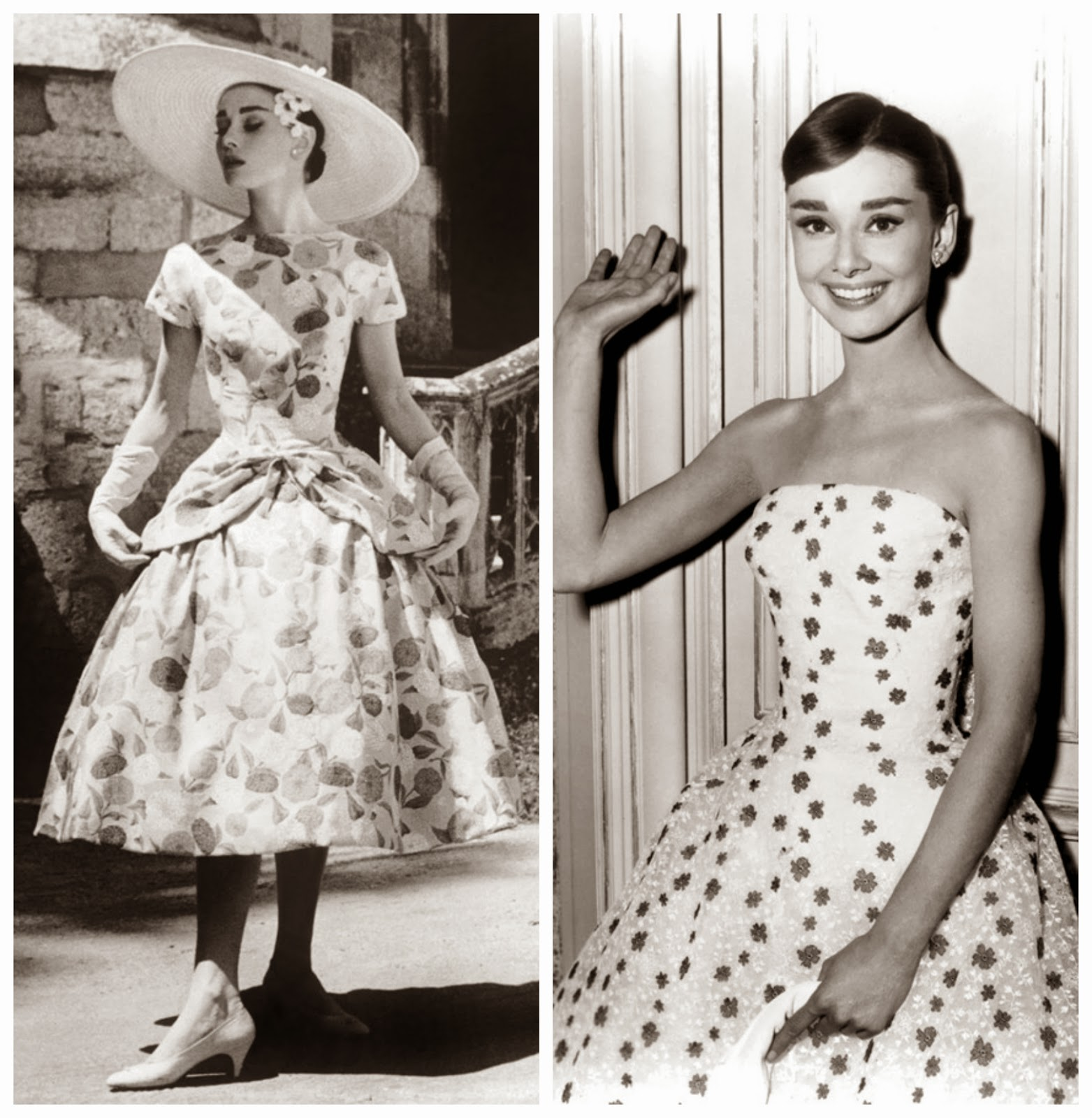 The polka dotted truth by jacqueline harbin audrey for Funny face wedding dress