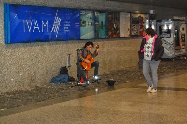 'Músics al metro' ofrece 33 actuaciones en directo este fin de semana en Metrovalencia