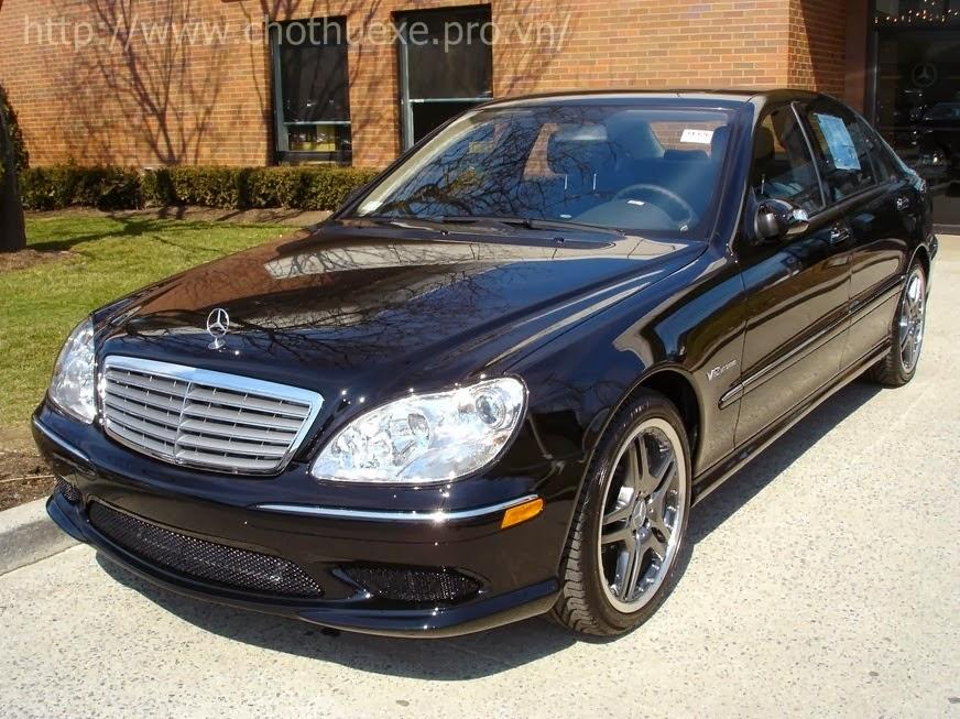 Cho thuê xe cưới Mercedes S65 AMG