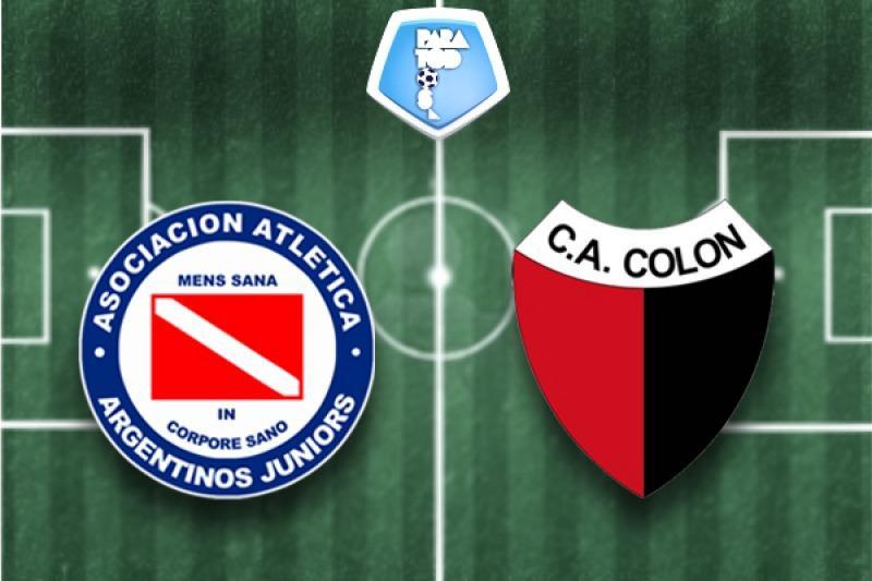 ARGENTINOS JUNIORS vs COLÓN