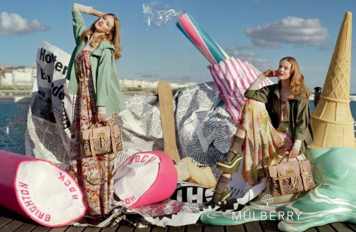 QUAN.COM: Mulberry Spring Summer 2012 Advertising Campaign