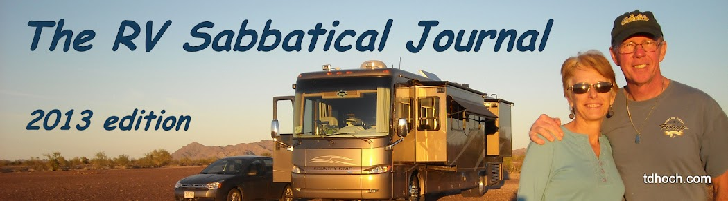 The RV Sabbatical Journal