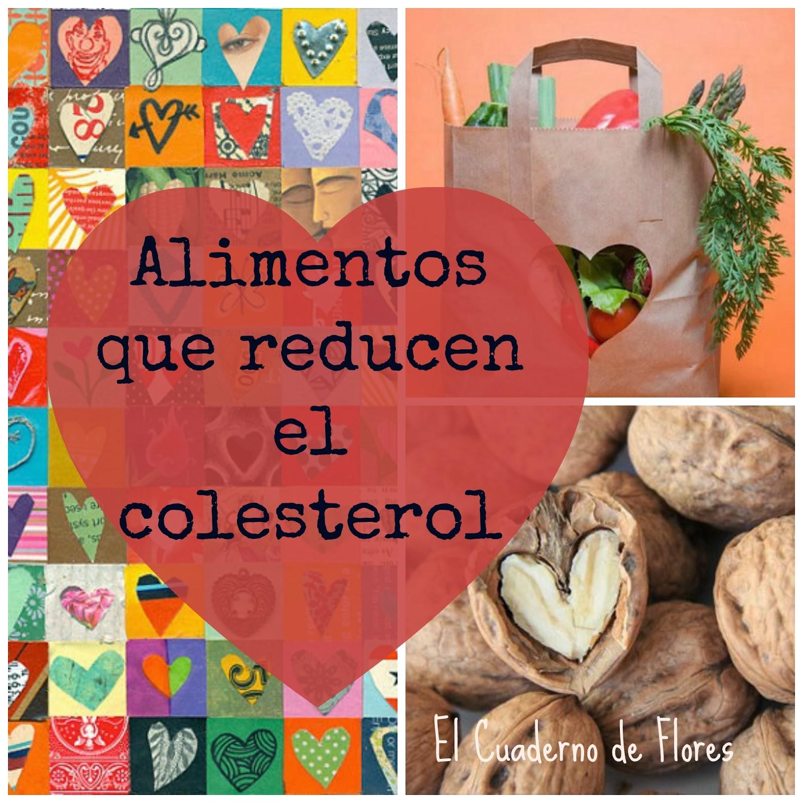 El cuaderno de flores farmacia nutrici n y vida sana 7 alimentos que reducen el colesterol - Alimentos que provocan colesterol ...