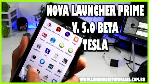 Nova Launcher Prime Plugin de Notificação Tesla unread