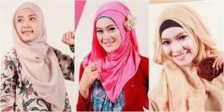 Tampil Cantik dan Modis dengan Hijab Segiempat 2015