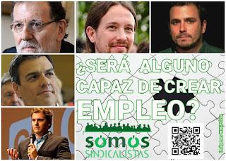 Promesas electorales: España necesita empleo, de calidad y bien renumerado