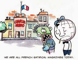 Tribute to Charlie Hebdo