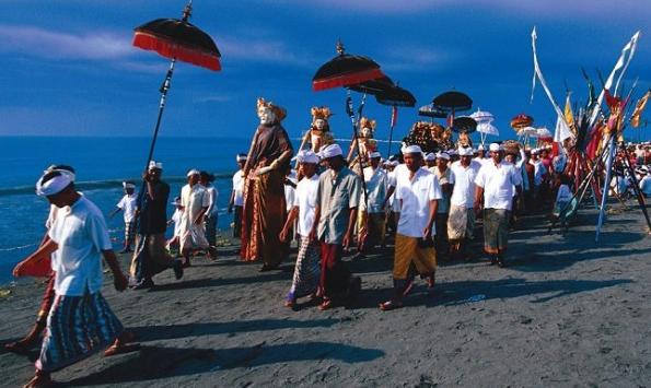 Sambutan Hari Nyepi Sebabkan Pulau Bali Sunyi Sepi 24 Jam