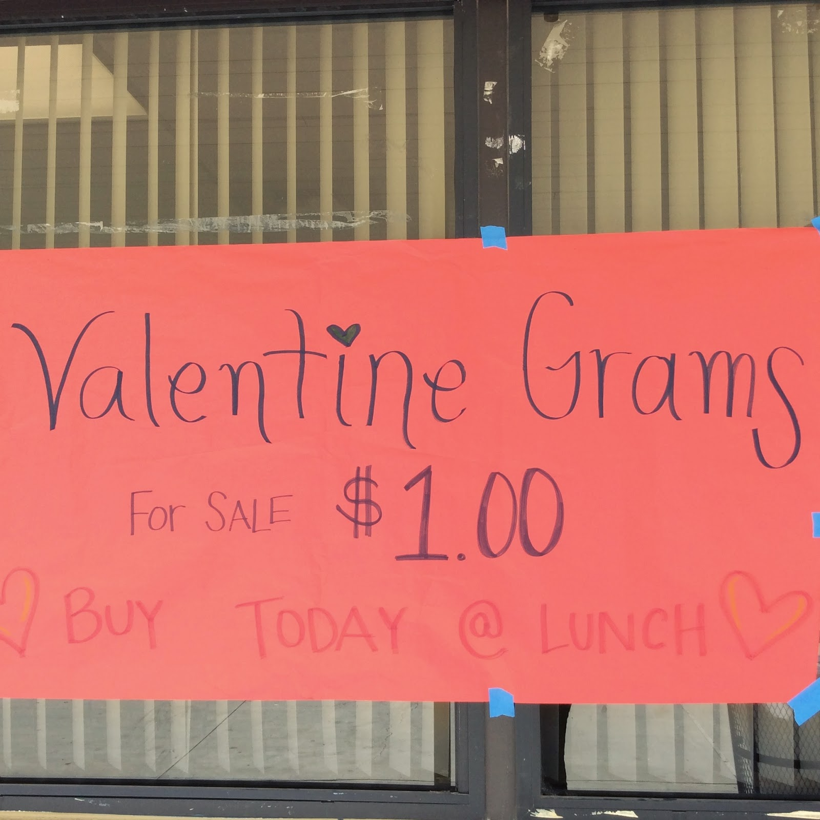 Here At Haydock This Week, WEB Leaders Will Be Selling Valentine Grams  During Lunch For Only $1! Each Valentine Gram Includes A Colorful Card And  Smencil (a ...