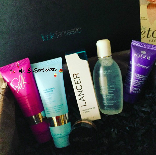 "Beauty Box de Lookfantastic Enero ""Detox Edition"""