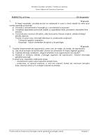 Subiecte anatomie bacalaureat 2012