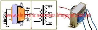 Transformador 9V + 9V