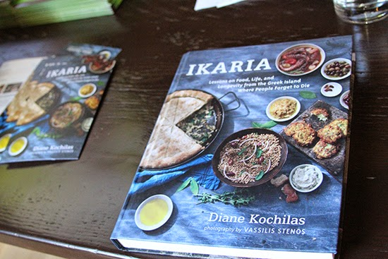 Ikaria Greek Cookbook by Diane Kochilas