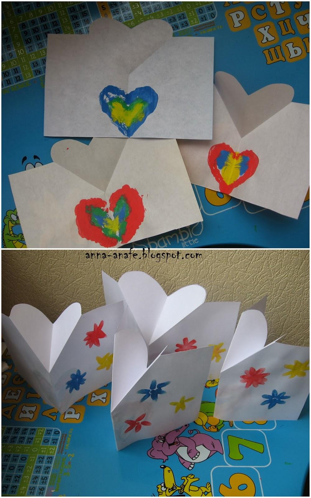 Детские открытки своими руками 73