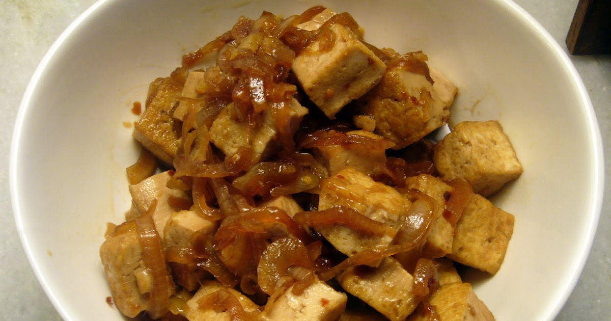 almostveg: Caramel Tofu