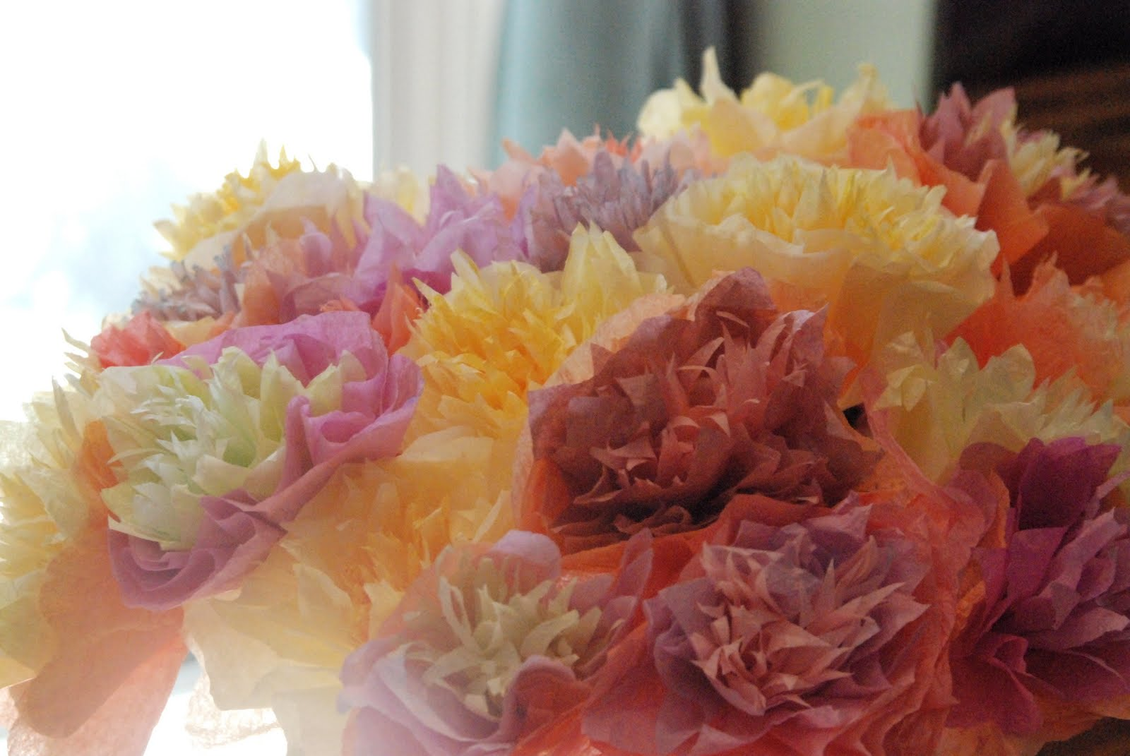Homemade Serenity: Why Don\'t You Make Coffee Filter Flowers