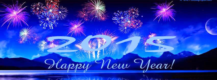 Best Of Happy New Year 2015 Facebook Cover Pictures