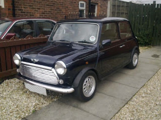 Our new Mini - a 1999 Rover Mini Standard with the 1275cc MPi engine.