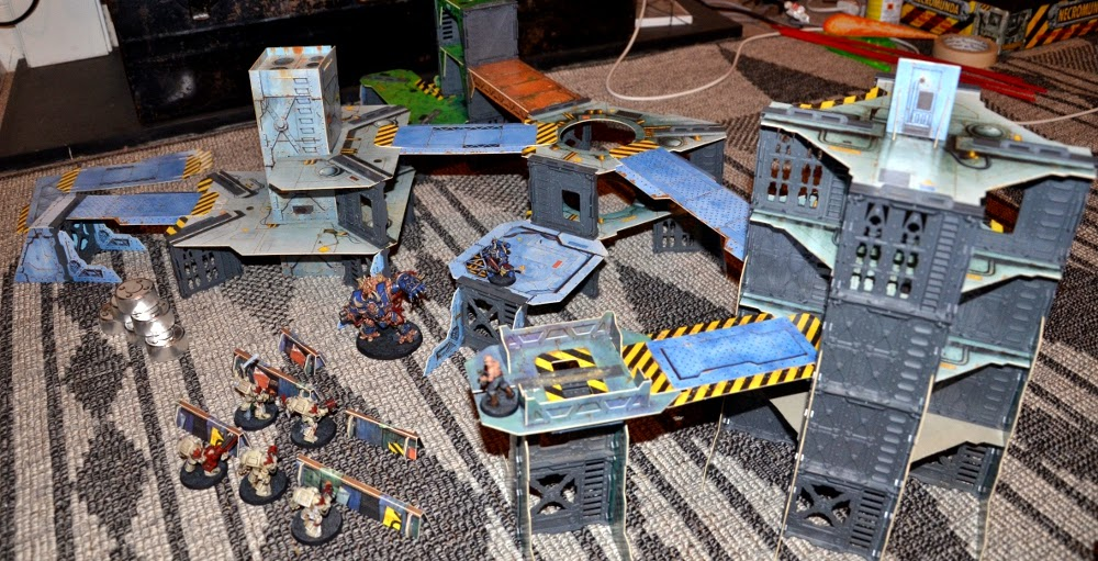 Necromunda Terrain Set my Necromunda Terrain