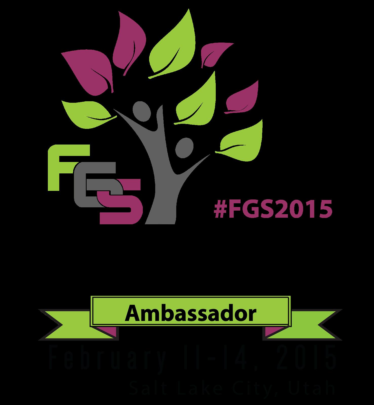 FGS 2015 Ambassador Logo