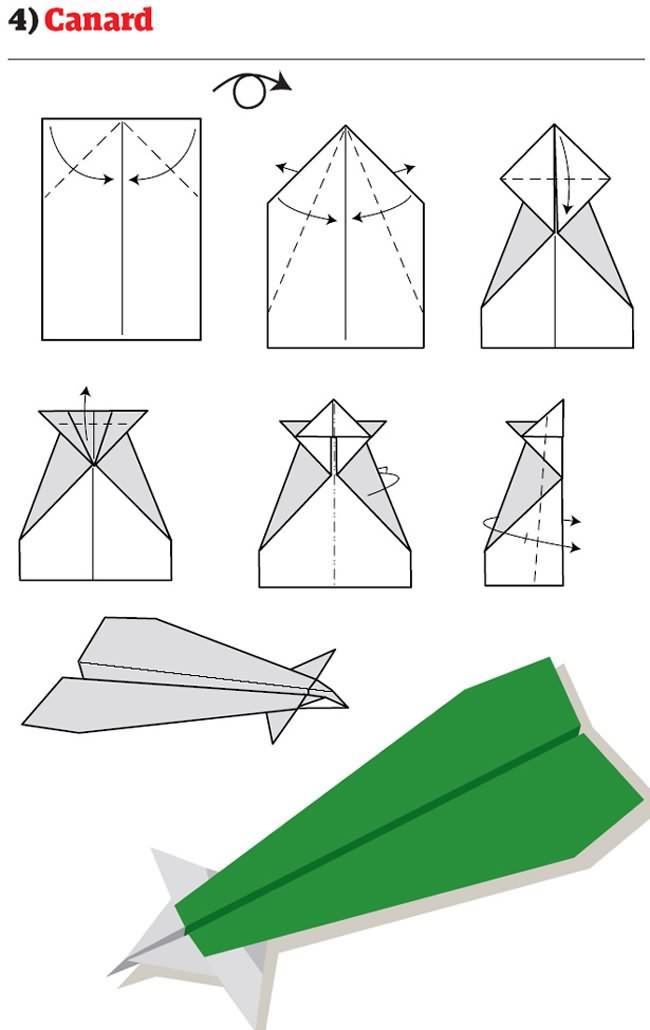 12 Cara Membuat Kapal Terbang Kertas Yang Awesome