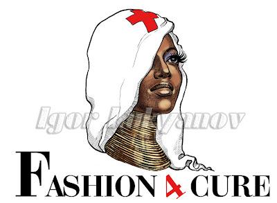 logotype (logo) de mode (couture) (visage modèle de mode africain)