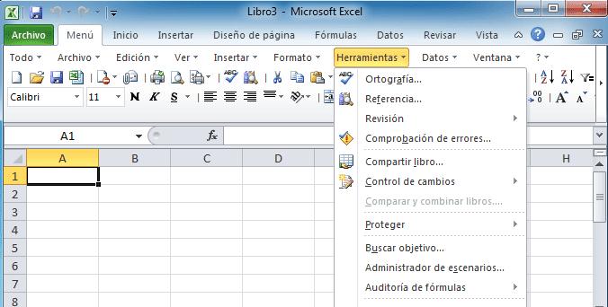 diferencia microsoft word exel: