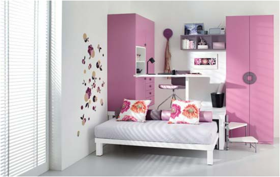 Cool modern teen girl bedrooms room design ideas for Cool designs for bedroom