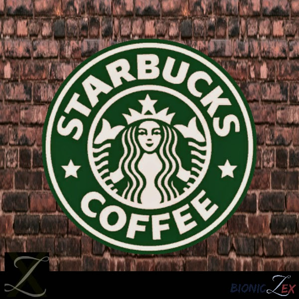 Video game testers wanted urgently: Starbucks Logo Wall Art by Bioniczex