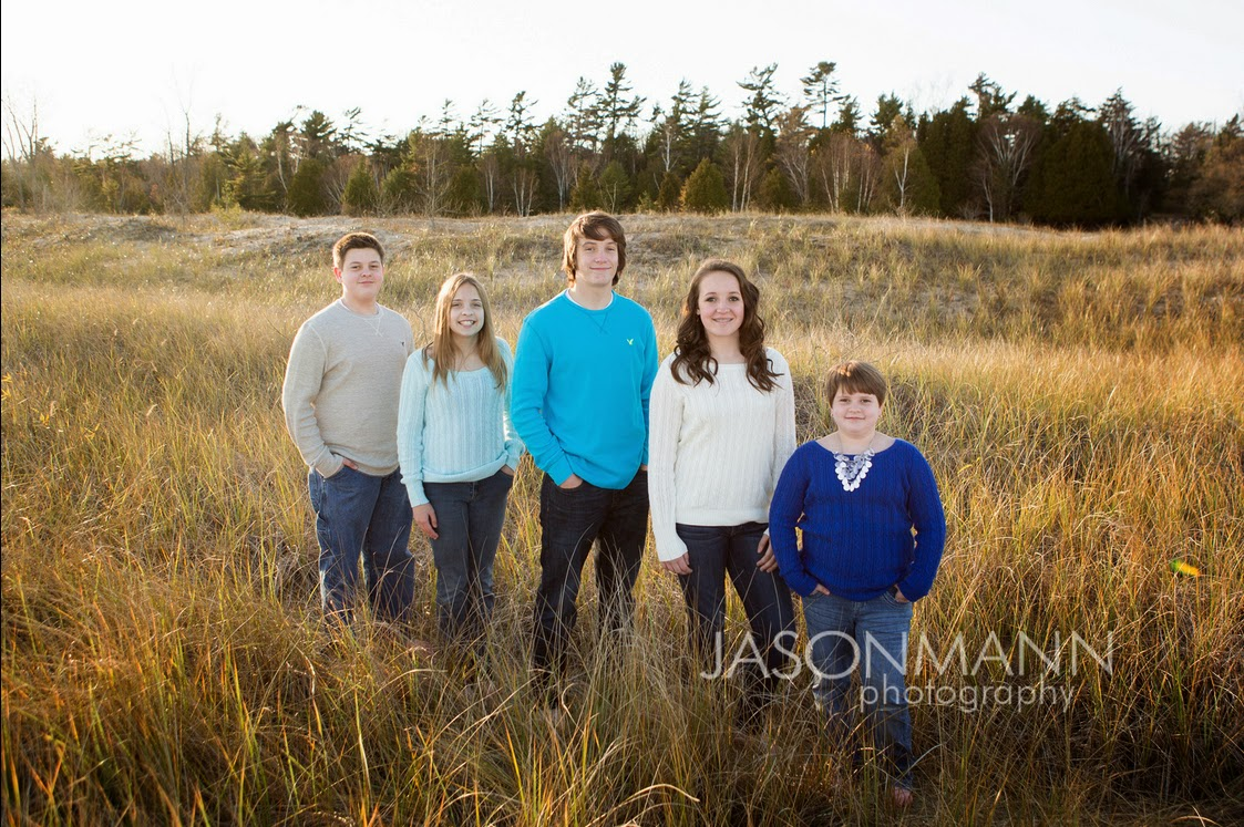 Door County Family Portraits Outdoor, Fall Beach Family Photos, Grandkids