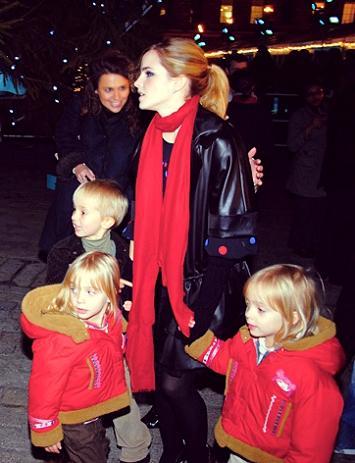 Emma Watson: Emma, Lucy and Nina