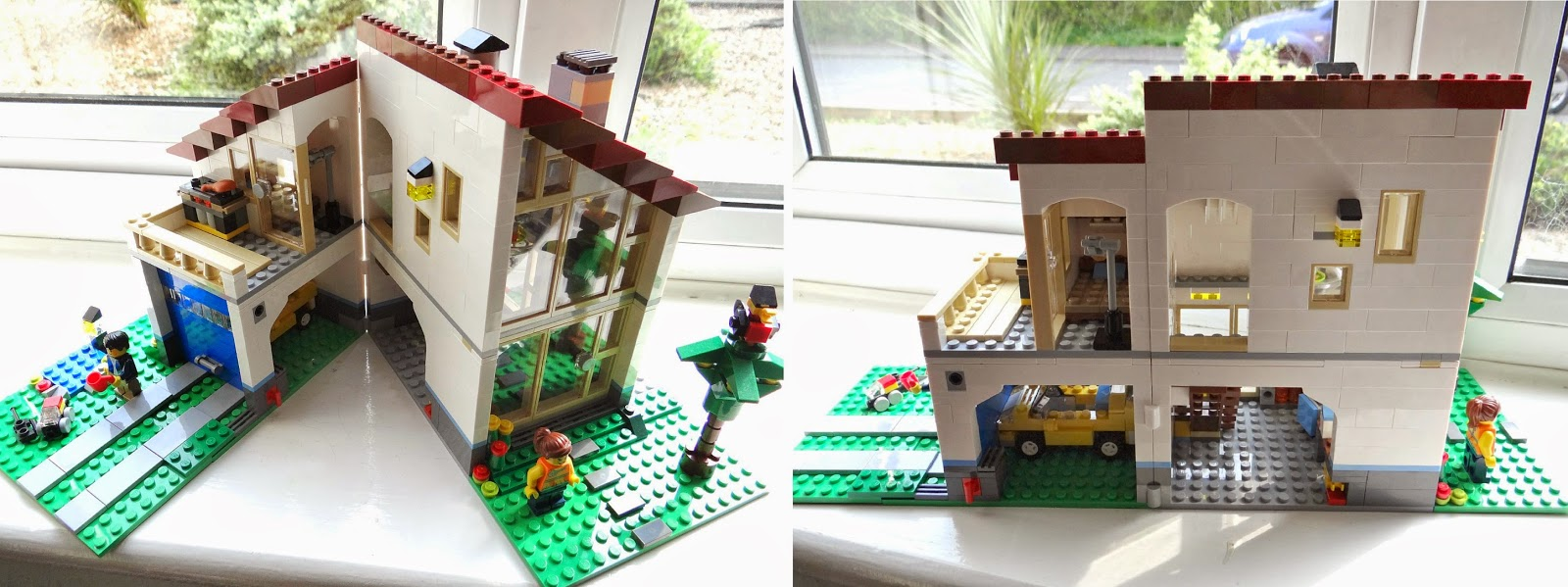 My Birthday Present LEGO Creator Family House This Is Life - Lego house interior
