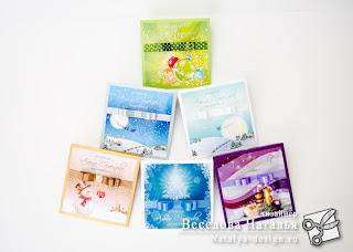 Новогодние конверты для фотографа