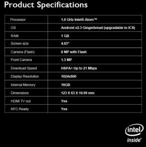 Ponsel Pertama Yang Ditenagai oleh Intel Rilis Minggu ini