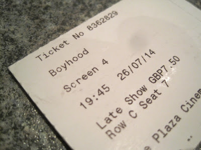 boyhood movie ticket