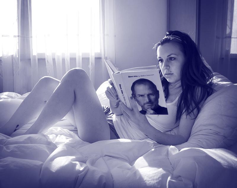 For Peet's Sake blog girl reading a book in bed