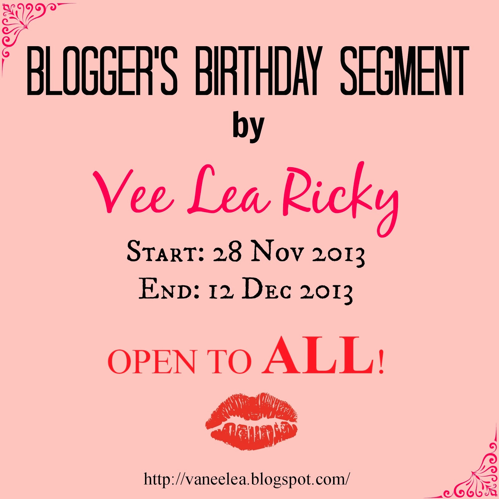 http://vaneelea.blogspot.com/2013/11/bloggers-birthday-segment.html