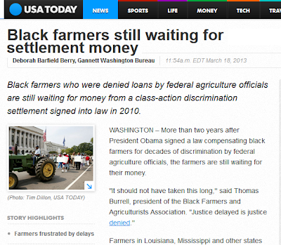 """As The """"Black-Wing Grievance Talk Radio"""" Waits For The Black Farmers"""