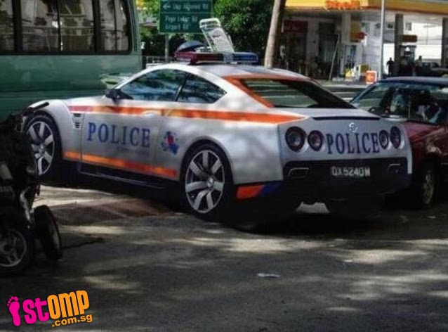 Beautiful STOMPer GTRMadness Came Across A Photo On Facebook Which Showed A Nissan  GTR Sports Car That Looks Like A Police Vehicle. Although The Authenticity  Of The ...