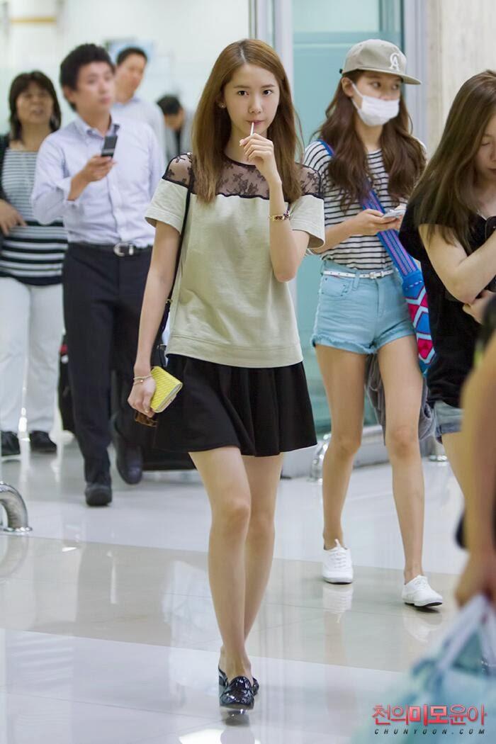 Snsd Yoona Airport Fashion Official Korean Fashion