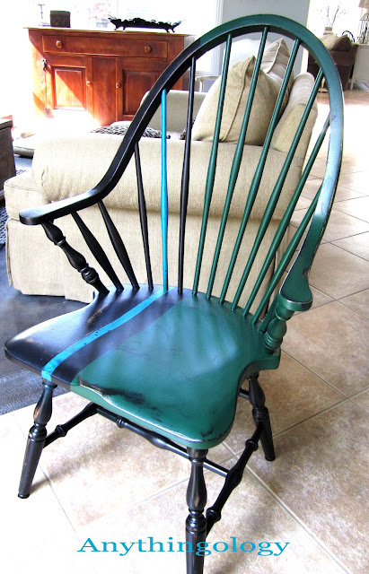 Man Cave Windsor : Anythingology windsor chair update