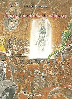"""Couverture du tome 1 """"Les guerriers du silence"""""""
