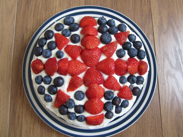 cream cheese icing jubilee british flag cake