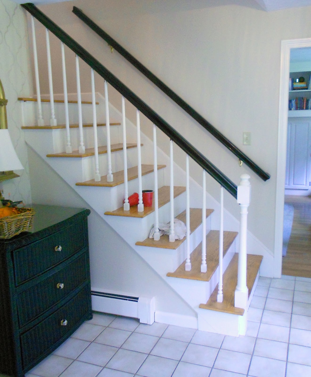 But Things Donu0027t Always Go According To Plan, Now Do They? We Loved The  Contrast Of The Dark Rail With The Light Treads,