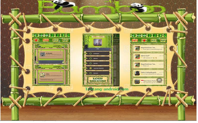 BBM Mod Bamboo Messenger v2 Base 2.9.0.45 Apk Terbaru