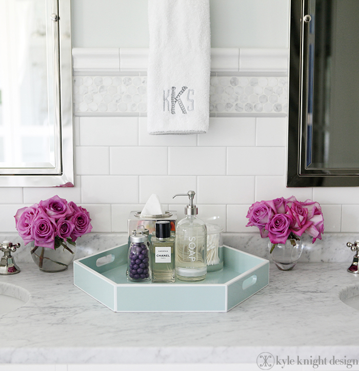 Everything looks better with a tray driven by decor for Decorative bathroom tray