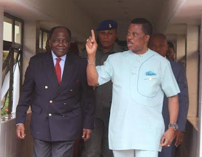 Yakubu Gowon Visits Anambra State Governor