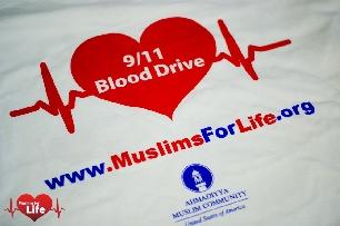 "USA: ""Muslims for Life"" mengadakan kampanye donor darah Mengenang korban tragedi 9/11"
