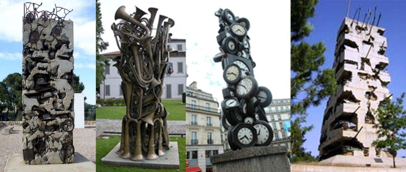 Extrêmement histoire-d-arts: ARMAN, Long term Parking, 1982 et sa fiche de  XU07
